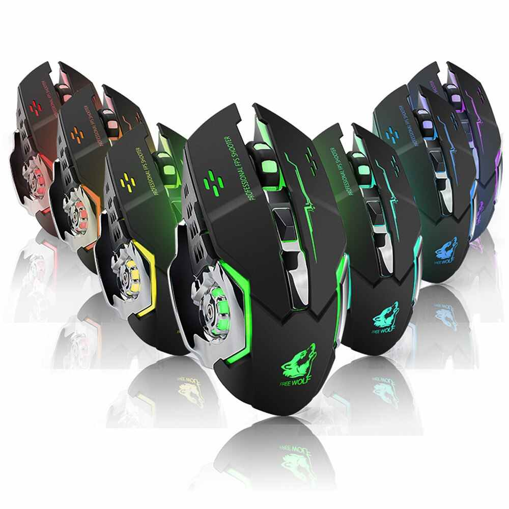 Wireless Silent Gaming Mouse